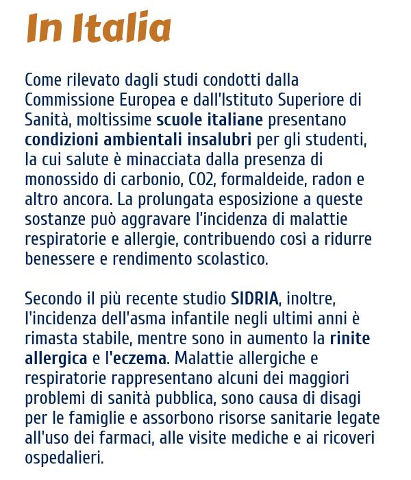progetto in italia